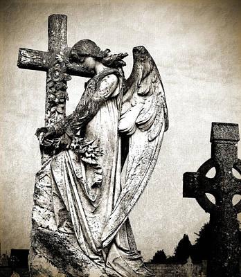 Roscommon Angel No 1 Art Print by Teresa Mucha