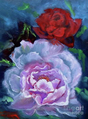 Painting - Rose 1 by Jenny Lee