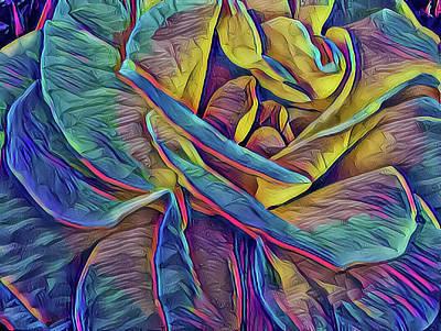 Mixed Media - Rose 1 by Jonathan Nguyen