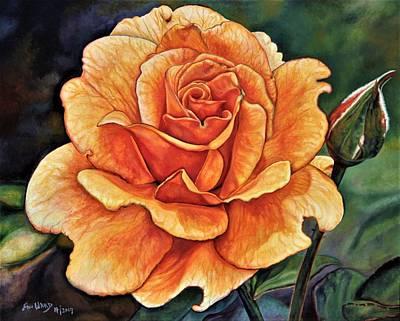 Rose 4_2017 Art Print