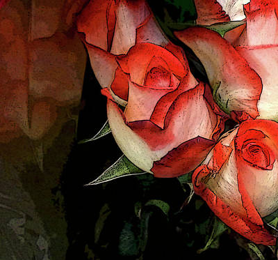 Photograph - Rose 5 by Peggy Cooper