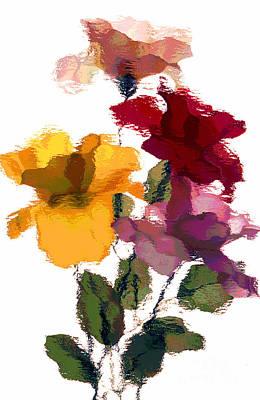 Rose 5 Art Print by Rich Killion