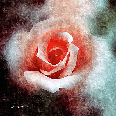 Digital Art - Rose Abstract Image  by S Art