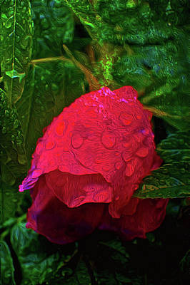 Painting - Rose by Andre Faubert