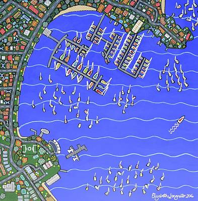 Painting - Rose Bay  by Elizabeth Langreiter