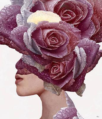 Nude Digital Art - Rose by Bojan Jevtic