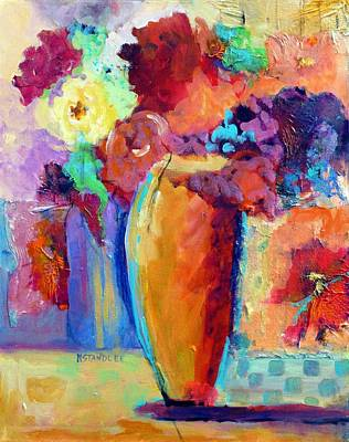 Wall Art - Painting - Rose Bouquet by Nancy Standlee