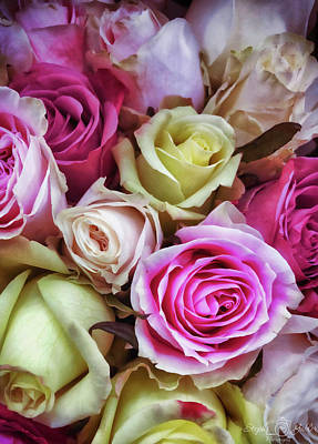 Photograph - Rose Bouquet by Steph Gabler