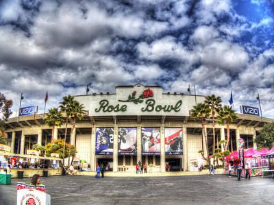 Rose Bowl Stadium Art Print