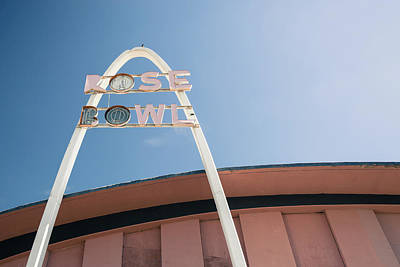 Photograph - Rose Bowl Tulsa Route 66 by Gregory Ballos
