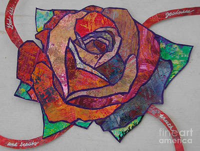 Carol Cole Painting - Rose by Carol Cole