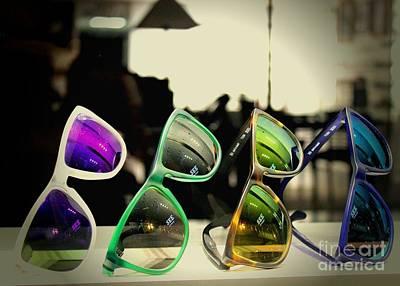 Photograph - Rose Colored Glasses by Jenny Revitz Soper