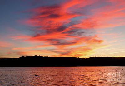 Photograph - Rose Coloured Skies by Barbara McMahon