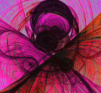 Digital Art - Rose Doodle by Sylvia Thornton
