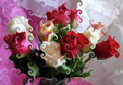 Photograph - Rose Dreams by Angie Baker