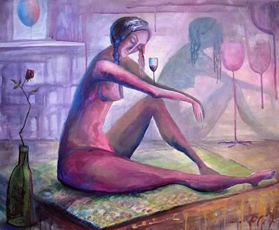 Rose Dreams Art Print by Elisheva Nesis