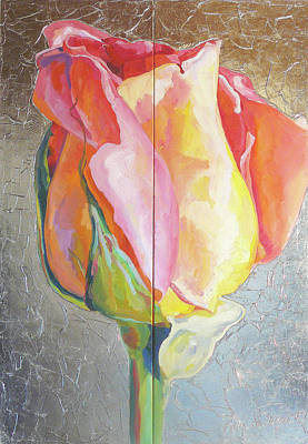 Painting - Rose by Eva Konya