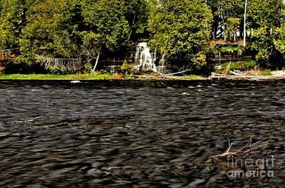 Photograph - Rose Falls by Matthew Winn