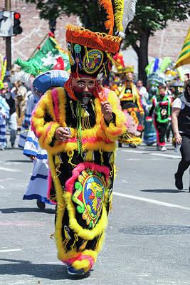 Parade Float Photograph - Rose Festival Parade Costume by Jess Kraft