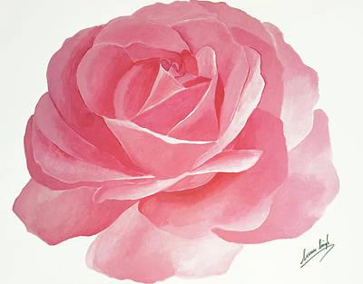 Painting - Rose Five by Seenu Singh