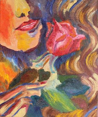 Painting - Rose For You  by Geeta Biswas