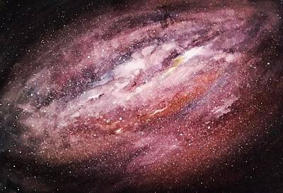 Painting - Rose Galaxy by Carole Hutchison