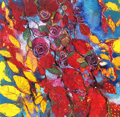 Rose Garden Art Print by Alessandro Andreuccetti