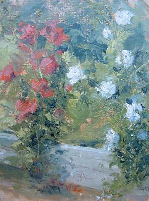 Rose Garden Art Print by Bryan Alexander