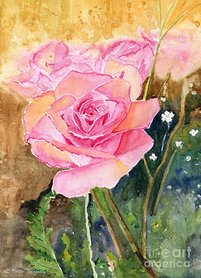 Painting - Rose Garden by Melly Terpening