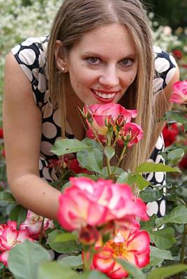 Rose Garden Art Print by Sonja Anderson