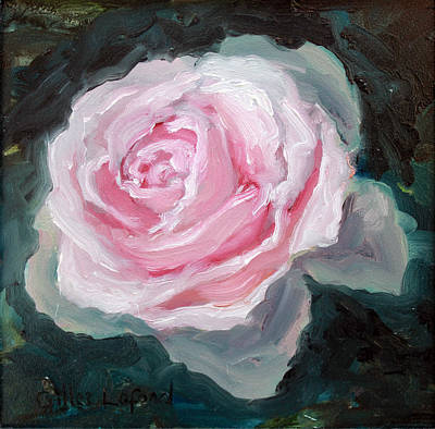 Painting - Rose by Gilles Lafond