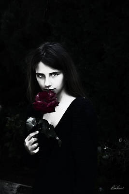 Photograph - Rose Girl by Diana Haronis