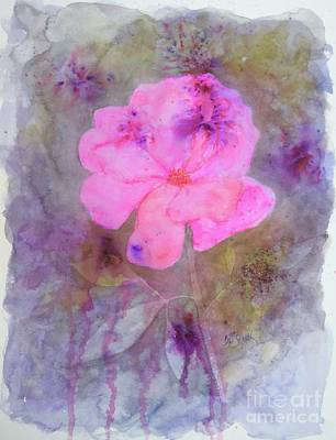 Painting - Rose Glow 9x11.5 Watercolor 140cp by Barrie Stark