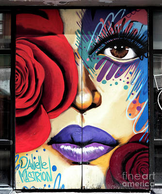 Photograph - Rose Graffiti by John Rizzuto