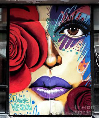 Photograph - Rose Graffiti by John Rizzuto