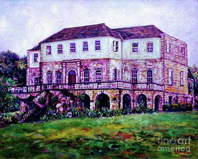 Rose Hall Great House Art Print