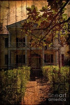Plantation Mixed Media - Rose Hill Plantation by Bob Pardue