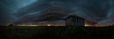 Photograph - Rose Hill Storm  by Aaron J Groen