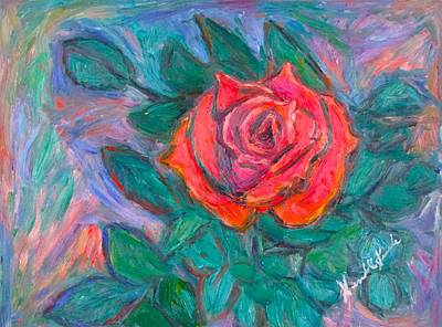Painting - Rose Hope by Kendall Kessler