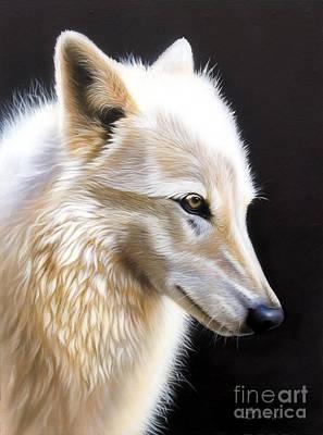 Airbrush Painting - Rose IIi by Sandi Baker