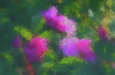 Digital Art - Rose Impression by Aliceann Carlton