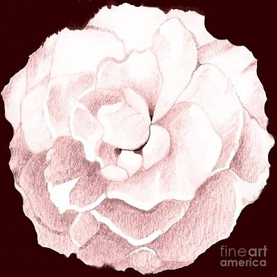 Digital Art - Rose In Pink by Helena Tiainen