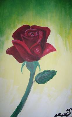 Painting - Rose by Joanna Aud