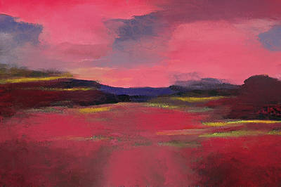 Digital Art - Rose Landscape by Yury Malkov