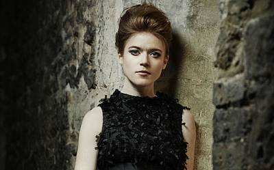 Rose Digital Art - Rose Leslie by Super Lovely