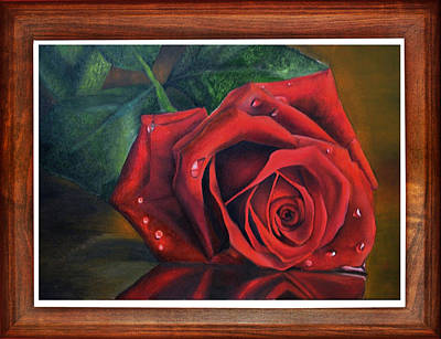 Rose Love Original by Deepak Deshmukh