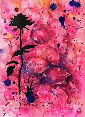 Painting - Rose Memories by Zaira Dzhaubaeva