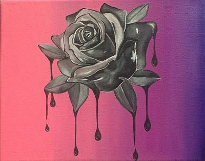 Yesterday's Rose Original by Michela Cau