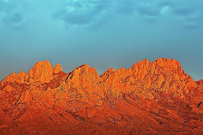 Photograph - Rose Mountains by Mike Stephens