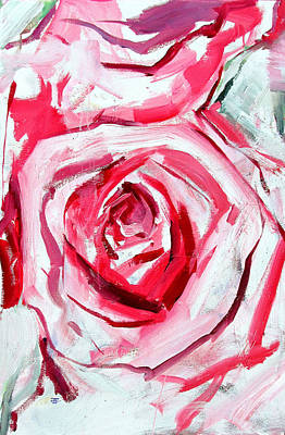 Painting - Rose Number 4 by John Jr Gholson